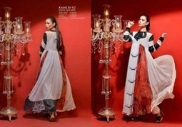 Hadiqa Kiani Latest Eid Collection 2013 For Girls & Women | stylostyle | Scoop.it