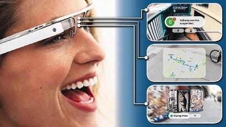 Google Glass et les réseaux sociaux   RA   Scoop.it