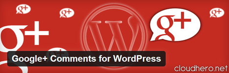 Google+ Comments for WordPress | WordPress France | Scoop.it