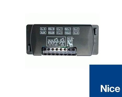 NICE FLOX2R  receptor universal de 2 canales con memoria BM250.   automatismos   Scoop.it