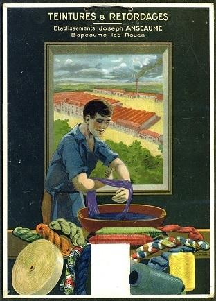 Affiche publicitaire des Etablissements Joseph Anseaume - Archives Départementales de Seine-Maritime 76 | GenealoNet | Scoop.it