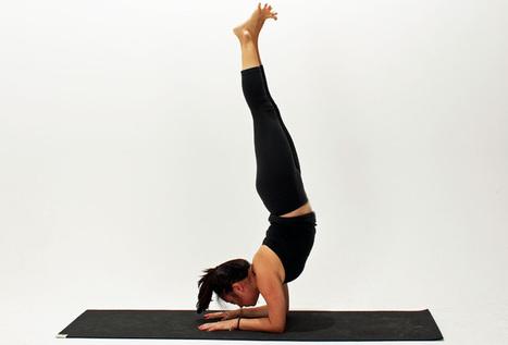 How To Do Forearm Stand | Articles sur le Yoga | Scoop.it