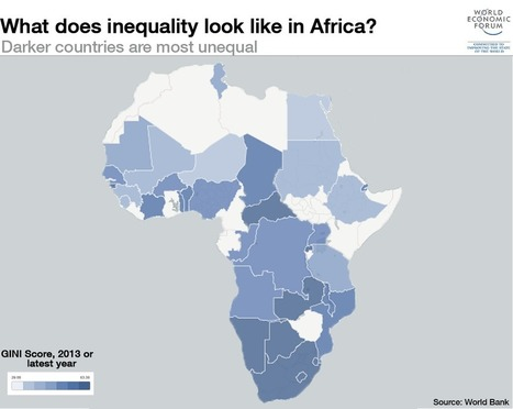 World Economy: 5 maps on the state of global inequality | Poverty and inequality | Scoop.it