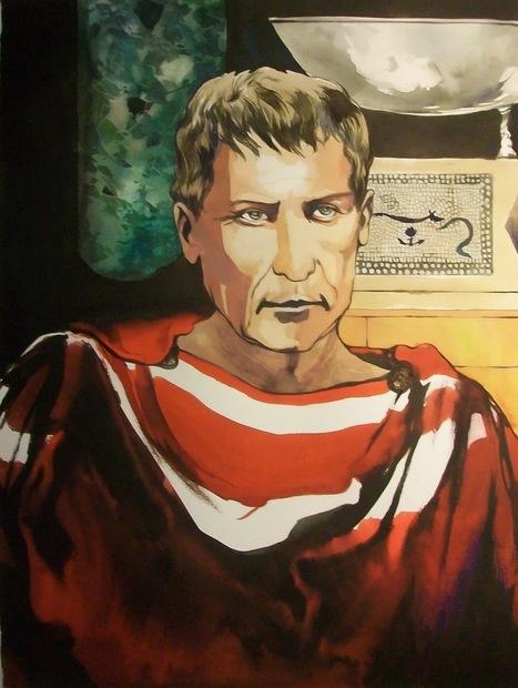 La guerre des Gaules: Caius Julius Caesar - Portrait | La Guerre des Gaules en BD | Scoop.it