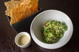 Guacamole with Pistachios & Smoked Cashew Salsa | The Butter | Scoop.it