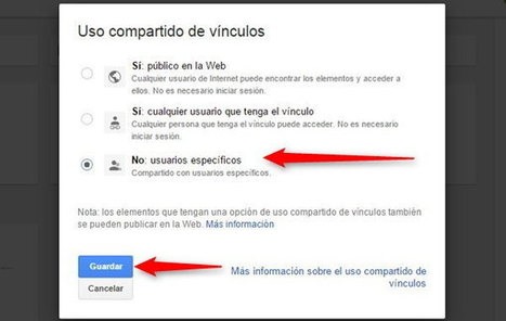 Un simple método para ver las carpetas públicas en Google Drive de otras personas | Herramientas digitales | Scoop.it