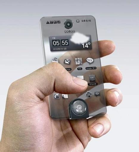 Second Life Mobile Phone Concept | Transparent Mobile Phone Concept | NewHiTechGadgets | Scoop.it