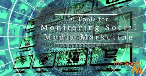 10 Tools for Monitoring Social Media Marketing | Digital Marketing Strategy | Scoop.it