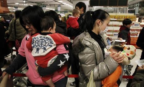 Lait rationné, économie d'électricité : mon quotidien, vu de Tokyo | LePost.fr | Japon : séisme, tsunami & conséquences | Scoop.it
