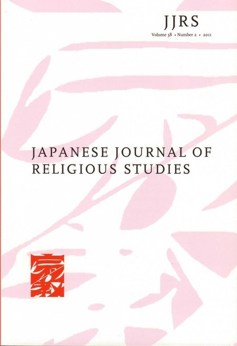Japanese Journal of Religious Studies | Nanzan Institute for Religion and Culture | Japon-ethnologie | Scoop.it