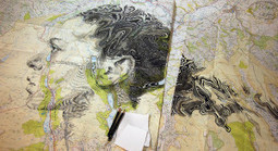 Stunning Map Portraits Created By Ed Fairburn | Jugglu.com - Best for Fun and Photos | Scoop.it