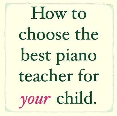 How to Choose the Best Piano Teacher For Your Child | Best Piano Lessons in Newman | Scoop.it