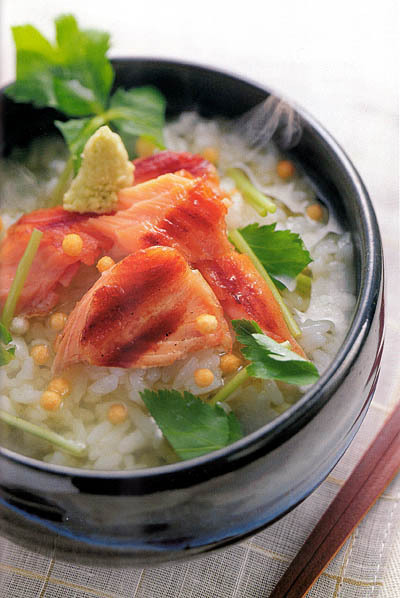 Ochazuke with Salmon Flakes   Health and Fitness   Scoop.it