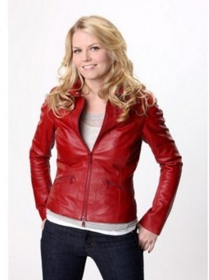 Emma Swan Red Leather Jacket | Once Upon a Time Red Jacket | Women's Jackets | Scoop.it