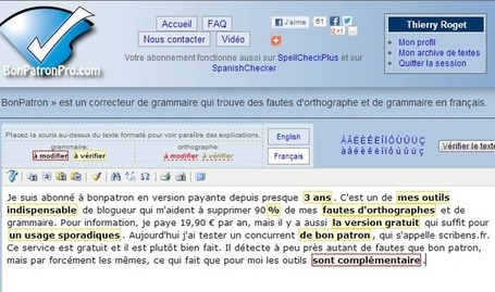 Correcteur d'orthographe et de grammaire | Language teaching web2 tools | Scoop.it
