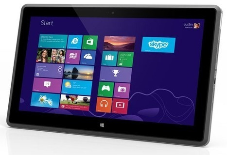 Vizio Tablet PC leads the CES 2013 charge with 11.6-inches of Windows 8 | Tablets | Scoop.it