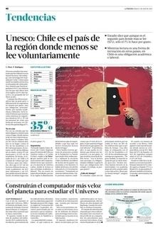 Unesco: Chile es el país de la región donde menos se lee voluntariamente   Tendencias   La Tercera Edición Impresa   Lenguaje y Comunicación   Scoop.it