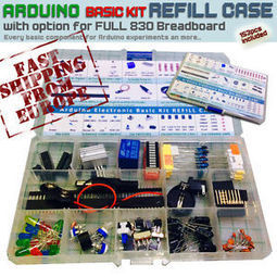 Arduino Electronic Kit Project REFILL CASE [15c Plastic case, All BASIC compon.] | Raspberry Pi | Scoop.it