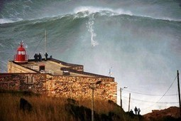 Surfer Garrett McNamara rides 100-foot wave in Portugal | All about water, the oceans, environmental issues | Scoop.it