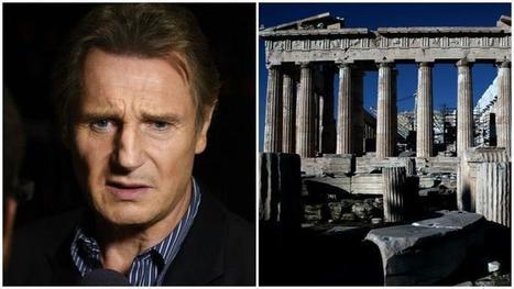 Frises du Parthénon : Liam Neeson accuse la Grande-Bretagne de «vol»   Blanc grec   Scoop.it
