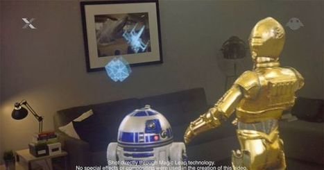 Magic Leap Brings Your Favorite Star Wars Characters to Life (and it's amazing) | learning by using iPads | Scoop.it