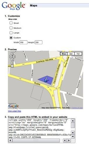Jak osadzić mapę z Google Maps na stronie WWW? - Webhosting.pl. Portal technologii internetowych   Grafika i tworzenie strony   Scoop.it