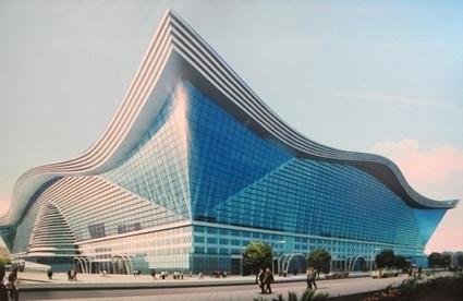 Au centre de la Chine, le plus grand bâtiment au monde | Construction l'Information | Scoop.it