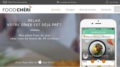 Un restaurant 100% en ligne et sur mobile s'est lancé à Paris   Crea & Co   Scoop.it