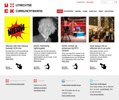 Utrechtse Communicatiekring lanceert nieuwe website   Huisstijl   Scoop.it