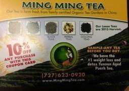 Ming Ming Tea - High Grade Organic Teas – Tampa – St. Petersburg – Clearwater - Sales and Discounts | Ming Ming Tea | Scoop.it