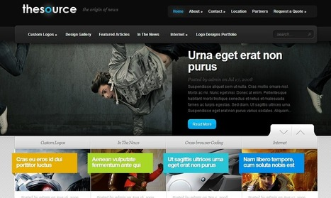 TheSource Theme by Elegant Themes | Wordpress Themes | Scoop.it