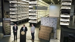 Old steel mill in N.J. to become world's largest vertical farm | Technology and the Environment | Scoop.it
