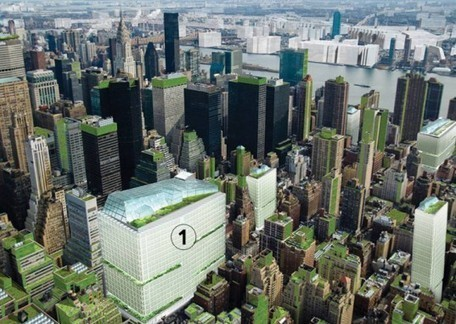 Terreform Proposes Covering NYC With Vertical Gardens & Urban Farms to Become Self-Sufficient | Inhabitat New York City | iMobileHomes - Interior Gardens for Air Quality | Scoop.it