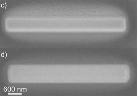 Nanoscale FEBID 3D printing technique produces pure gold nanostructures | 3D_Materials journal | Scoop.it