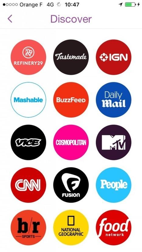Tout le monde se lève pour… Snapchat | JOURNALISME | Scoop.it