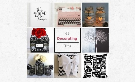 Keep Calm and DIY!: 99 Outstanding Decorating Tips | DIY | Scoop.it