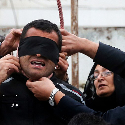 Iran mother spares life of son's killer at his execution | Latest News & Updates at Daily News & Analysis | The Good News | Scoop.it
