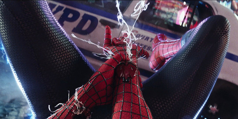 The Physics of Spider-Man's Webs | Science Blogs | WIRED | Cool Science | Scoop.it