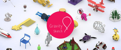 Gravity Sketch, 3D Printing for everyone! | The Ultimaker CREATE Education Project | qrcodes et R.A. | Scoop.it