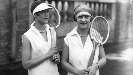 French Open 2015: Tennis fashion has come a long way in the last century... - CNN International | CLOVER ENTERPRISES ''THE ENTERTAINMENT OF CHOICE'' | Scoop.it