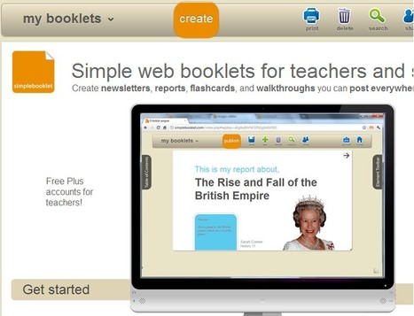 simplebooklet homepage | Social Media: Changing Our World of Education | Scoop.it