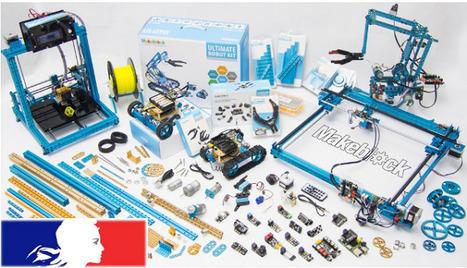 Une gamme de robots conçus pour l'éducation et l'apprentissage | Courants technos | Scoop.it