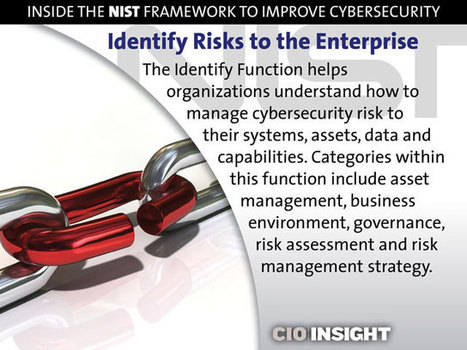 Inside the NIST Framework to Improve Cybersecurity | Digital-News on Scoop.it today | Scoop.it