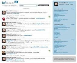 Twissues: Respalda y realiza búsquedas dentro de tus tweets   Educación a Distancia y TIC   Scoop.it