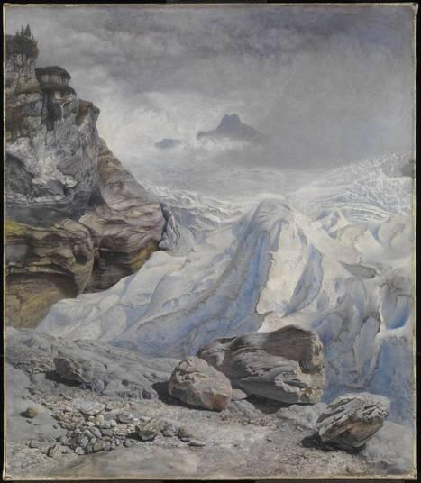 'Glacier of Rosenlaui', John Brett | Tate | Glaciers: Art and Science | Scoop.it