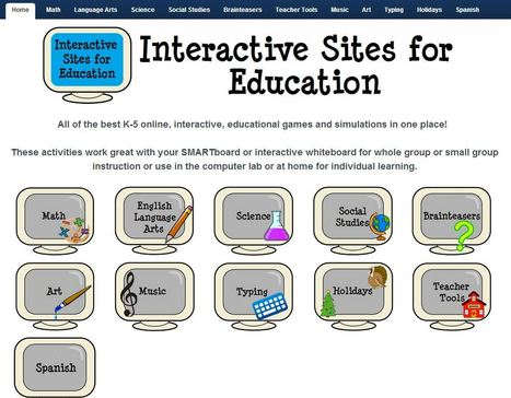 Interactive Learning Sites for Education | ICT in de Basisschool | Scoop.it