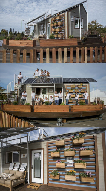 Solar-powered tiny houses take the spotlight in... - eco3tree | Eco Friendly | Scoop.it