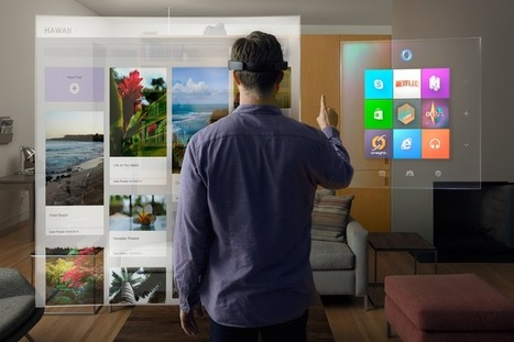 Microsoft's HoloLens is no joke: My reality augmented with Skype, Minecraft - CNET | Scoop.it Sysico | Scoop.it