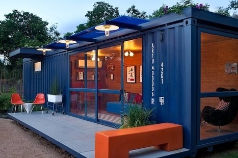 7 Creative Upcycled Shipping Container Homes | sustainable architecture | Scoop.it