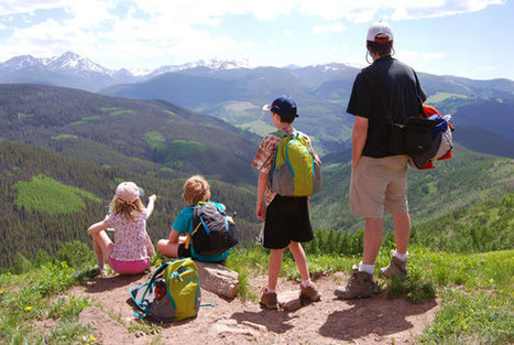 9 Tips for hiking with kids - Epic Moms | Dude Ranch Vacations | Scoop.it